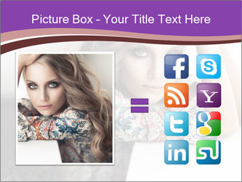 The beautiful young girl PowerPoint Templates - Slide 21