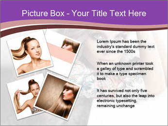 The beautiful young girl PowerPoint Templates - Slide 23
