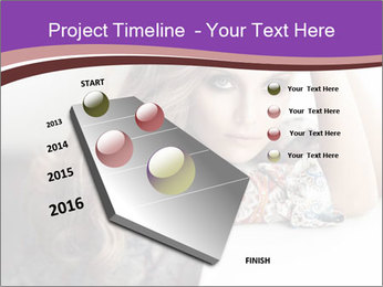 The beautiful young girl PowerPoint Templates - Slide 26