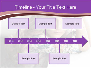 The beautiful young girl PowerPoint Templates - Slide 28