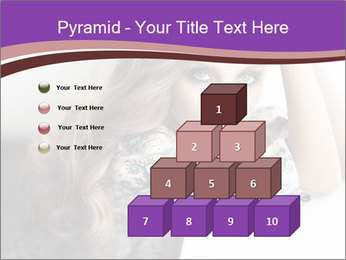 The beautiful young girl PowerPoint Templates - Slide 31