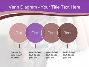 The beautiful young girl PowerPoint Templates - Slide 32
