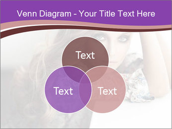 The beautiful young girl PowerPoint Templates - Slide 33