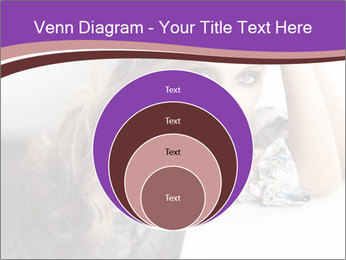 The beautiful young girl PowerPoint Templates - Slide 34