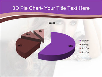 The beautiful young girl PowerPoint Templates - Slide 35
