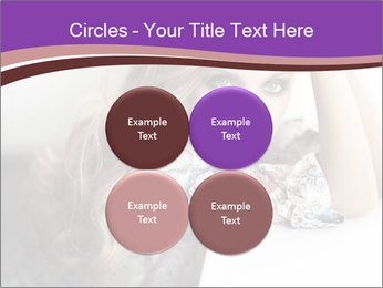 The beautiful young girl PowerPoint Templates - Slide 38