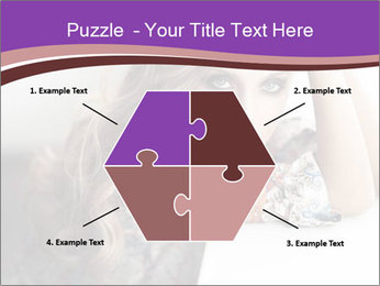The beautiful young girl PowerPoint Templates - Slide 40