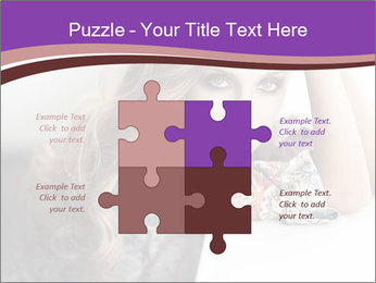 The beautiful young girl PowerPoint Templates - Slide 43