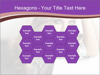 The beautiful young girl PowerPoint Templates - Slide 44