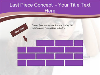 The beautiful young girl PowerPoint Templates - Slide 46