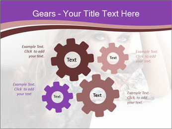 The beautiful young girl PowerPoint Templates - Slide 47