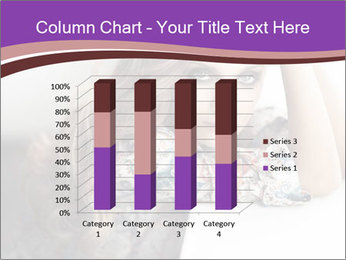 The beautiful young girl PowerPoint Templates - Slide 50