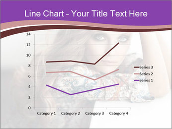 The beautiful young girl PowerPoint Templates - Slide 54