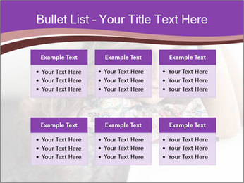 The beautiful young girl PowerPoint Templates - Slide 56
