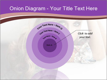 The beautiful young girl PowerPoint Templates - Slide 61