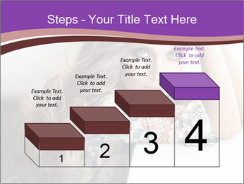 The beautiful young girl PowerPoint Templates - Slide 64