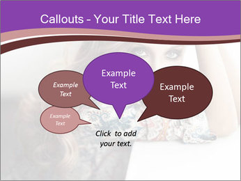 The beautiful young girl PowerPoint Templates - Slide 73