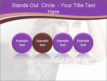 The beautiful young girl PowerPoint Templates - Slide 76