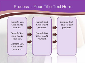The beautiful young girl PowerPoint Templates - Slide 86