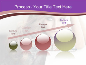 The beautiful young girl PowerPoint Templates - Slide 87