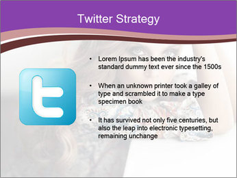 The beautiful young girl PowerPoint Templates - Slide 9