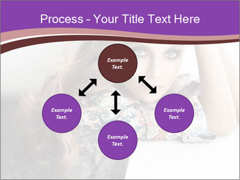The beautiful young girl PowerPoint Templates - Slide 91