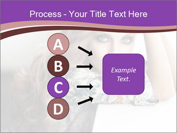 The beautiful young girl PowerPoint Templates - Slide 94