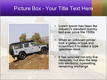Silver Land Rover Defender PowerPoint Templates - Slide 13