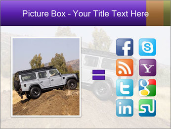 Silver Land Rover Defender PowerPoint Templates - Slide 21