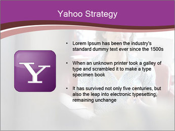 Young businesswoman PowerPoint Template - Slide 11