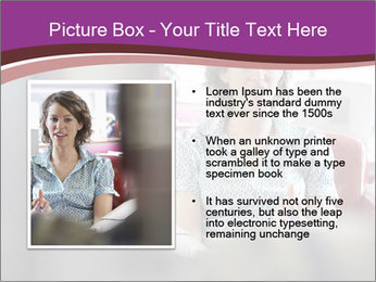 Young businesswoman PowerPoint Template - Slide 13
