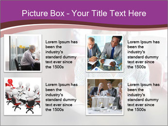 Young businesswoman PowerPoint Template - Slide 14