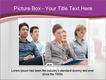 Young businesswoman PowerPoint Template - Slide 15
