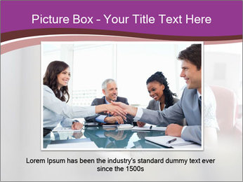 Young businesswoman PowerPoint Template - Slide 16