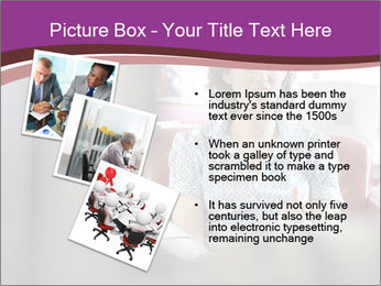 Young businesswoman PowerPoint Template - Slide 17