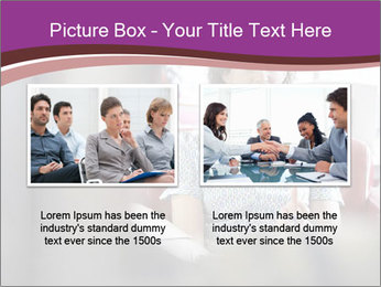Young businesswoman PowerPoint Template - Slide 18