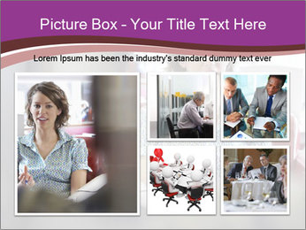 Young businesswoman PowerPoint Template - Slide 19