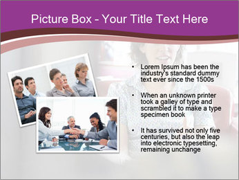 Young businesswoman PowerPoint Template - Slide 20