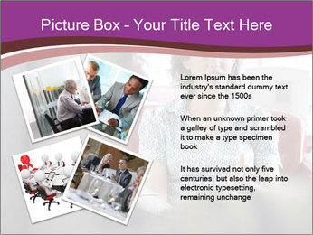 Young businesswoman PowerPoint Template - Slide 23