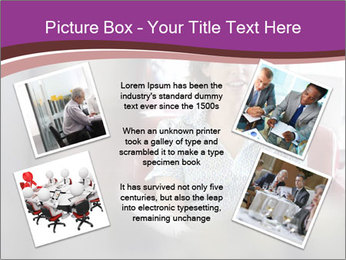 Young businesswoman PowerPoint Template - Slide 24