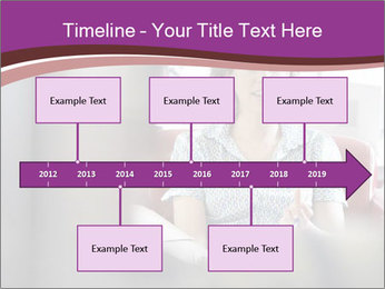 Young businesswoman PowerPoint Template - Slide 28