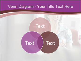 Young businesswoman PowerPoint Template - Slide 33