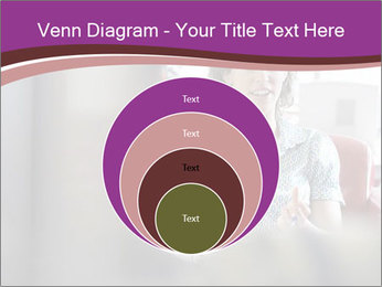 Young businesswoman PowerPoint Template - Slide 34