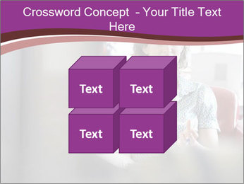 Young businesswoman PowerPoint Template - Slide 39