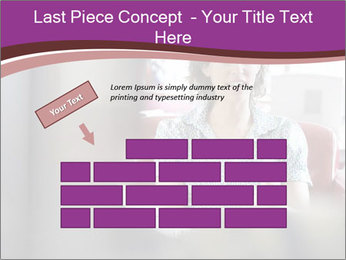Young businesswoman PowerPoint Template - Slide 46