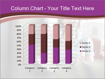 Young businesswoman PowerPoint Template - Slide 50