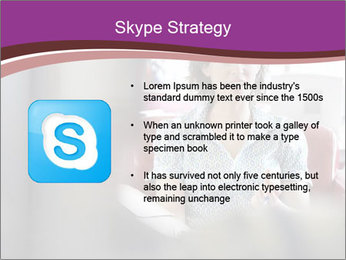 Young businesswoman PowerPoint Template - Slide 8
