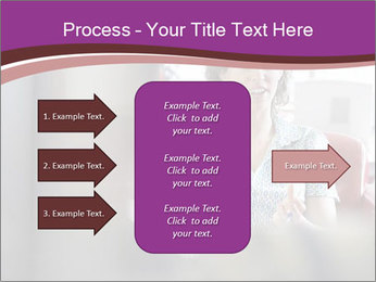 Young businesswoman PowerPoint Template - Slide 85