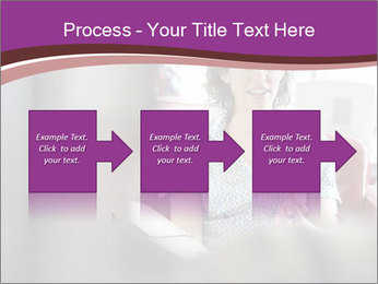Young businesswoman PowerPoint Template - Slide 88