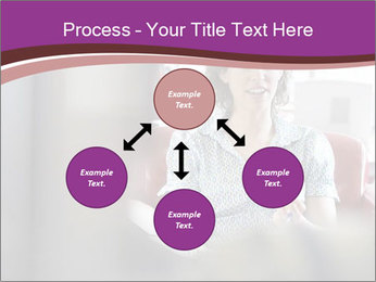 Young businesswoman PowerPoint Template - Slide 91